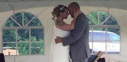 Niespodziewany gość na ślubie. Wszyscy zaniemówili