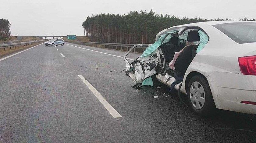 Wypadek w Świebodzinie