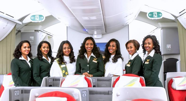 Ethiopian Airlines staff