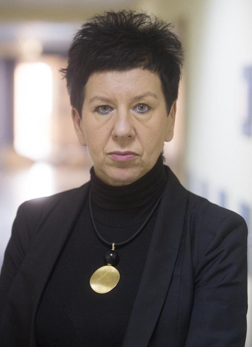Bożena Jaromin pielęgniarka ze szpitala Euromedic