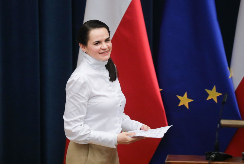 Donald Tusk chce, aby UE nominowała Swiatłanę Cichanouską   i jej męża Siarhieja do Pokojowej Nagrody Nobla