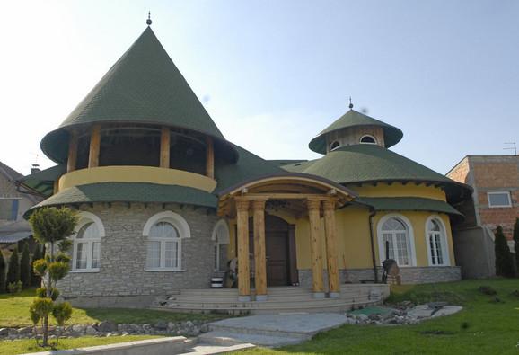 Kuća Miloša Bojanića podseća na zamak