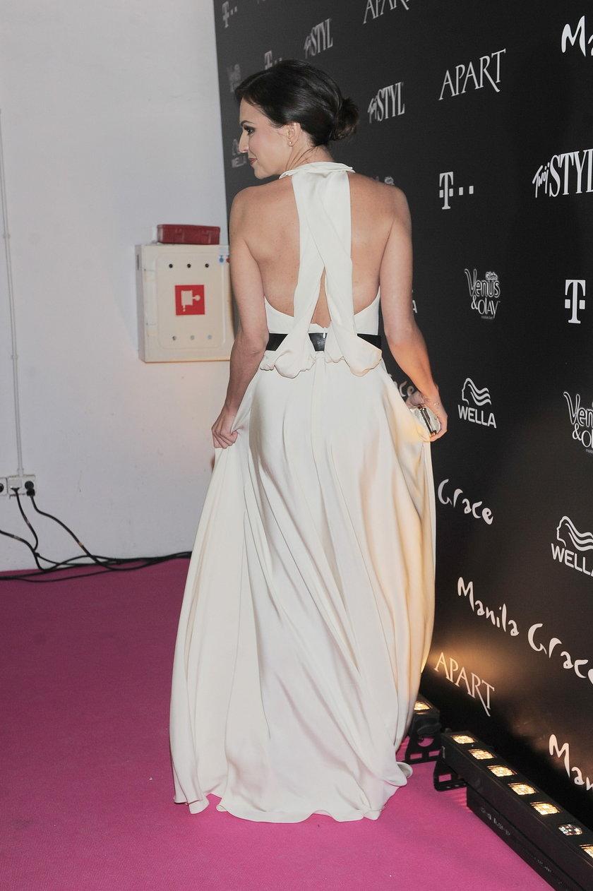 Anna Wendzikowska na gali Doskonałość Mody