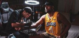 Niesamowity tatuaż tenisisty. W ten sposób uczcił pamięć Kobe'ego Bryanta