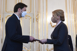 Słowacja: Prezydent Czaputova mianowała rząd Eduarda Hegera