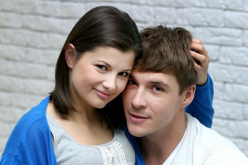 Kasia ( Agnieszka Sienkiewicz) i Marcin (Mikołaj Roznerski)