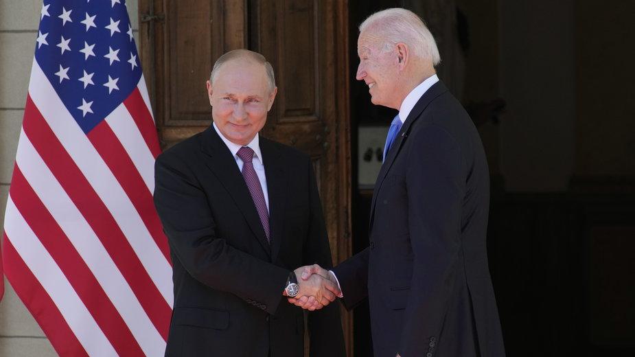 Władimir Putin i Joe Biden