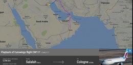 Przymusowe lądowanie w Kuwejcie. To alarm bombowy