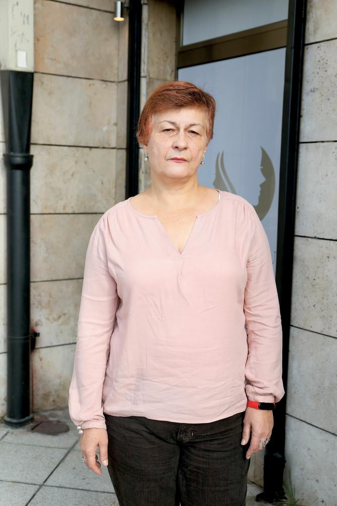 Marina Nikolić pre transformacije