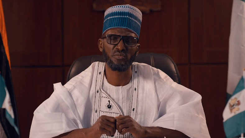 Funky Mallam plays the lead character in the movie, 'Mr President' [YouTube/BroadwayAfrica TV]