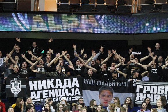 Partizan je imao podršku i u Berlinu
