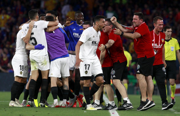 Slavlje fudbalera Valensije