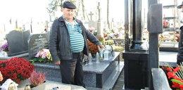 Spór o 12 centymetrów... na cmentarzu