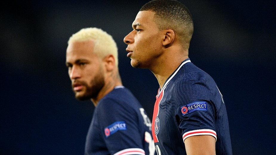 Neymar i Mbappé
