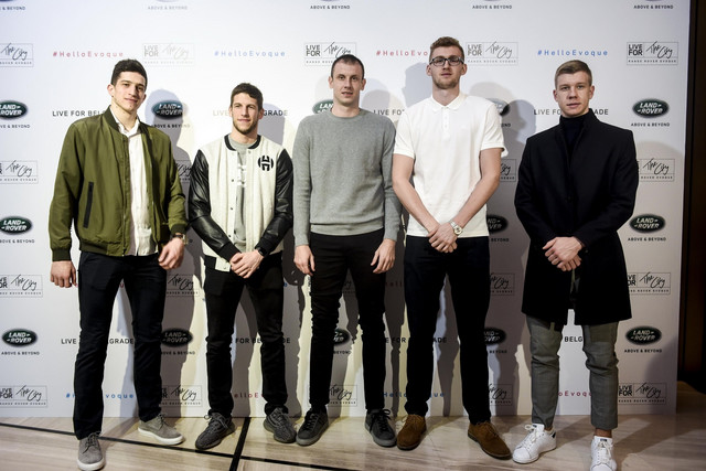 Kapiten KK Partizan Novica Veličković i košarkaški naslednici u Partizanu