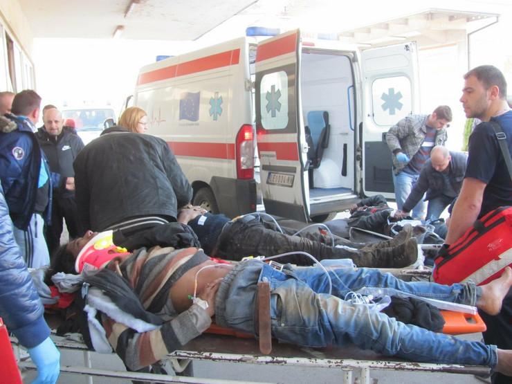Ukazivanje prve pomoći povređenim imigrantima