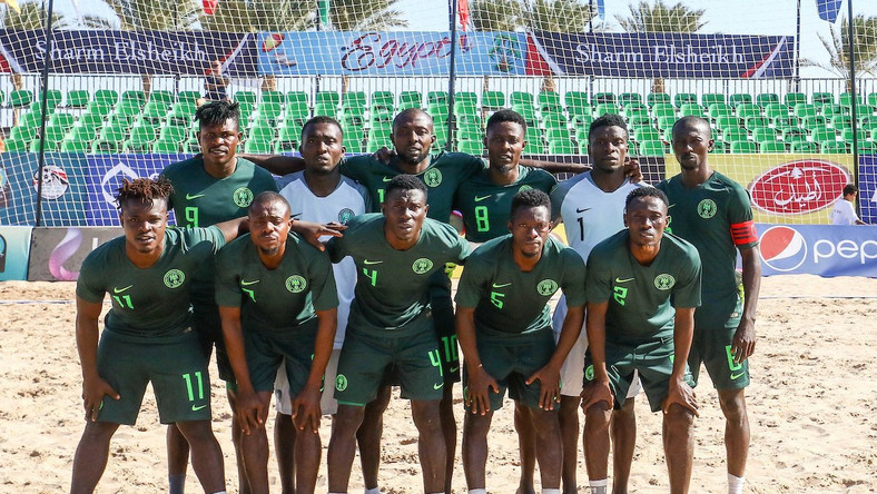 Agbo led the Super Sand Eagles to a second place finish at the 2018 Beach Soccer AFCON