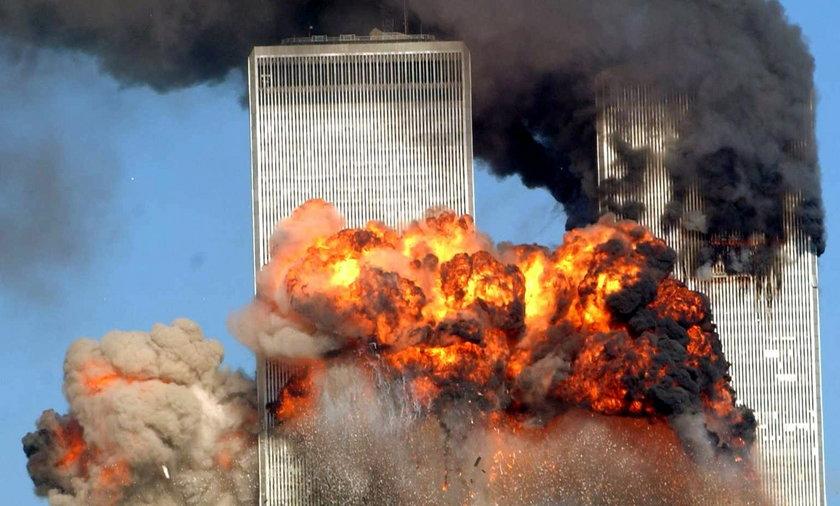 Atak terrorystyczny na WTC.