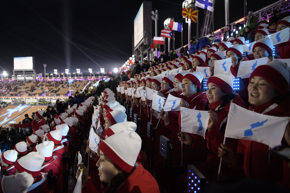 epa06508655 - SOUTH KOREA PYEONGCHANG 2018 OLYMPIC GAMES (Opening Ceremony - PyeongChang 2018 Olympic Games)