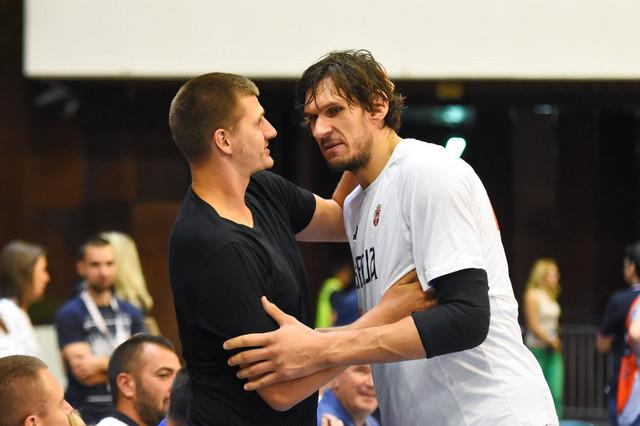 Nikola Jokić i Boban Marjanović