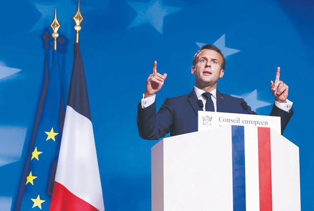 Emmanuel Macron naciska na reformę reguł fiskalnych