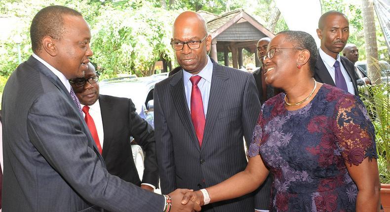 Uhuru appoints Safaricom CEO Bob Collymore