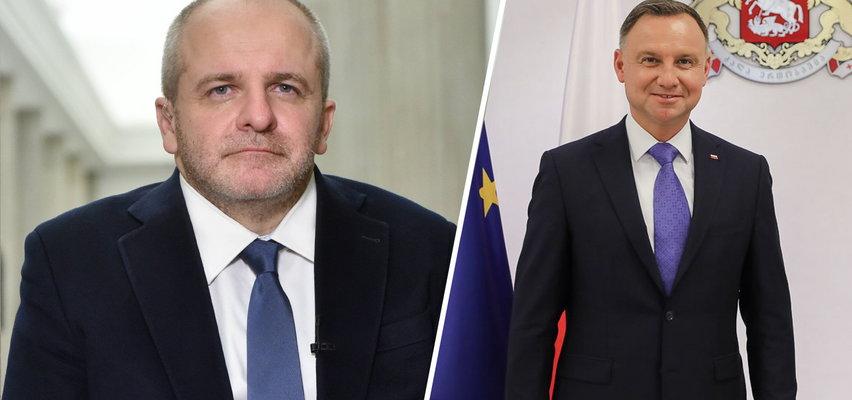 Prezydent Duda nie dotrzymał obietnicy danej Gruzji. Paweł Kowal: szczepionek nie ma