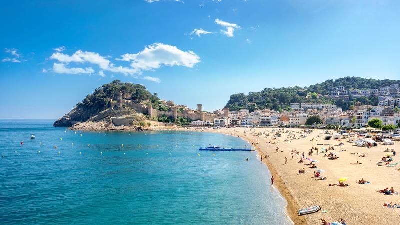 Tossa de Mar, Hiszpania