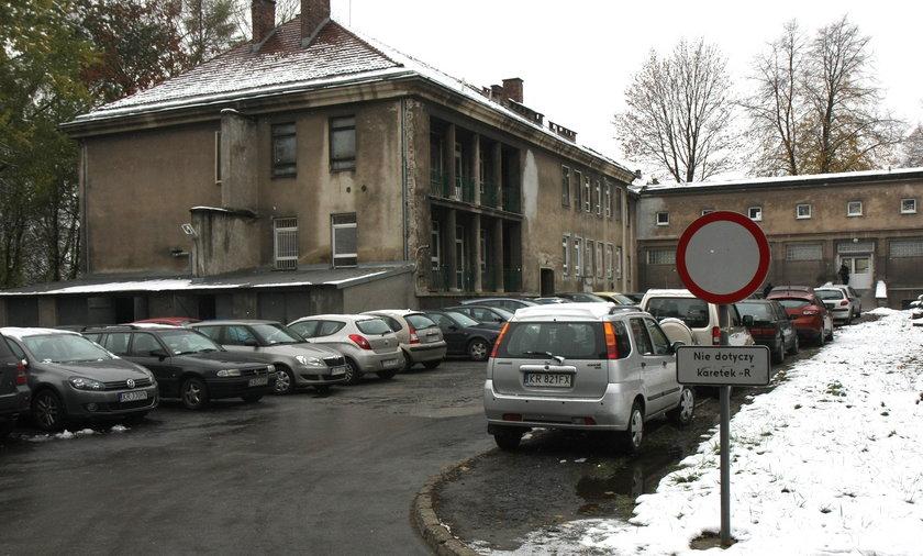 Opłaty za parking w szpitalu Żeromskiego w Krakowie.