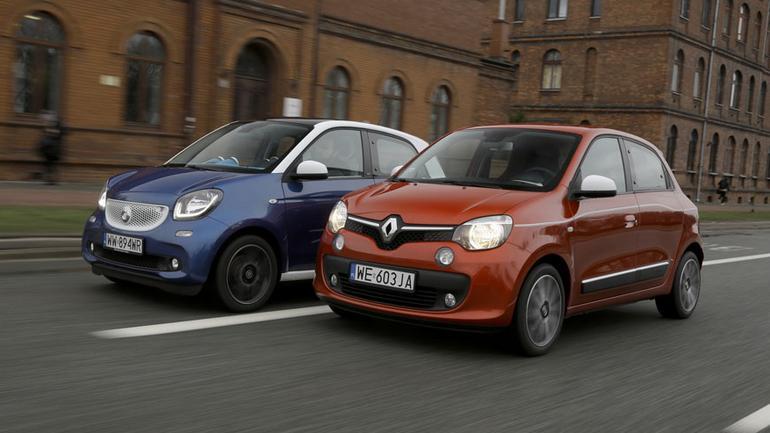 Zwinne bliźniaki - Smart Forfour kontra Renault Twingo