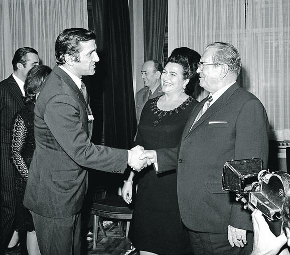 Bata, Tito i Jovanka