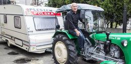 Traktorem po Polsce. Zygmunt Kuś wyrusza w kolejną podróż