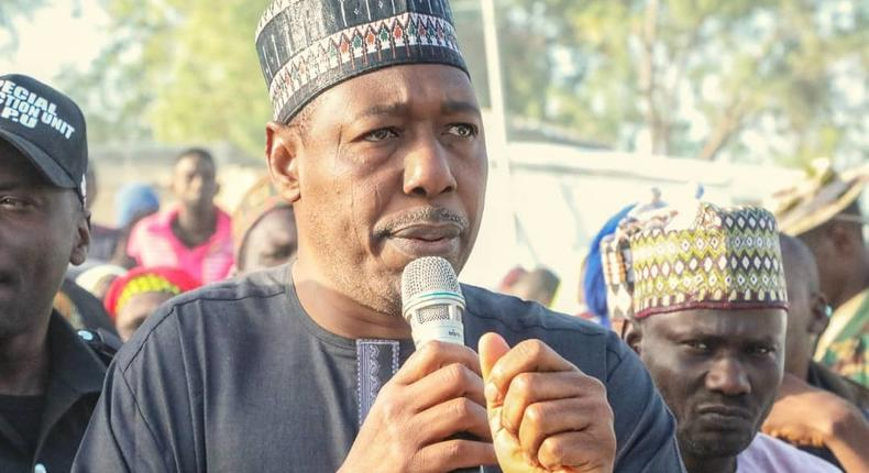 Borno state Governor, Babagana Umara Zulum says violence being perpetrated by insurgents in Borno state seems to be on the increase.[Twitter/@ProfZulum]