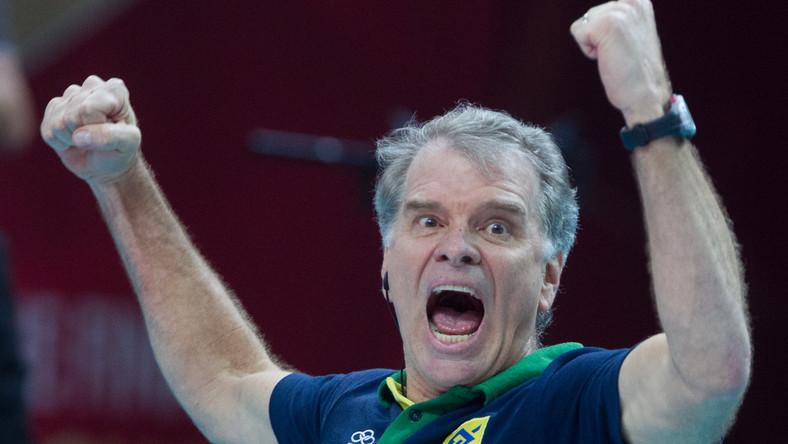 Trener reprezentacji Brazylii Bernardo Rezende