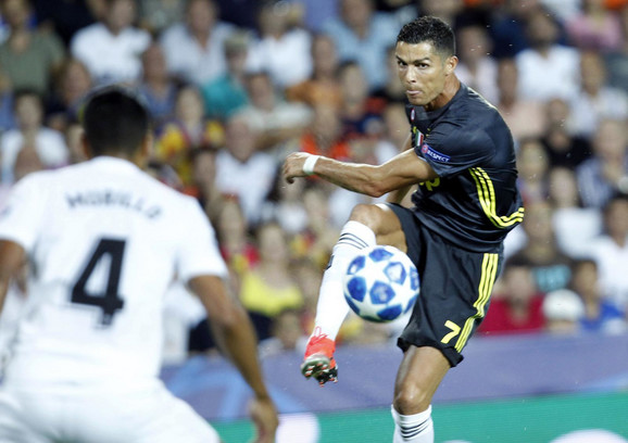 Kristijano Ronaldo u dresu Juventusa još uvek traži pravu formu