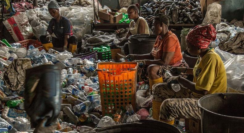 Nigerians can now  pay for healthcare services with recyclable waste (Bloomberg)