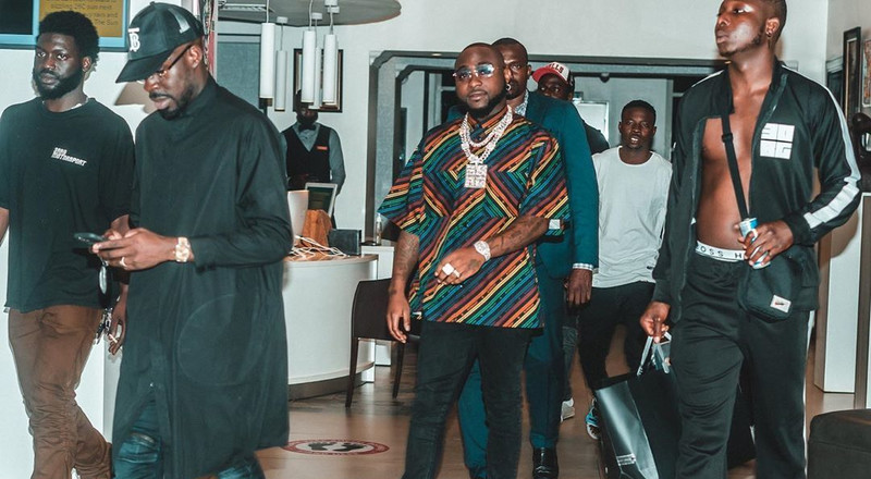 Davido called out for allegedly assaulting bouncer at a night club in Abuja