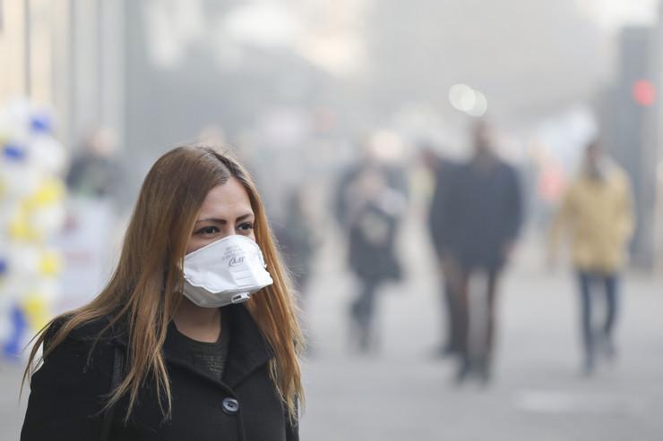 maska zagađenje
