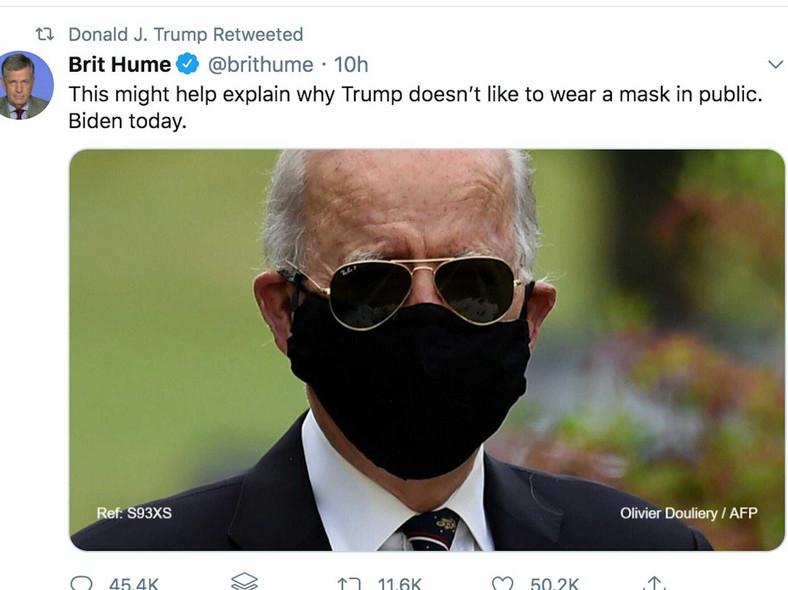 Hume Biden tweet