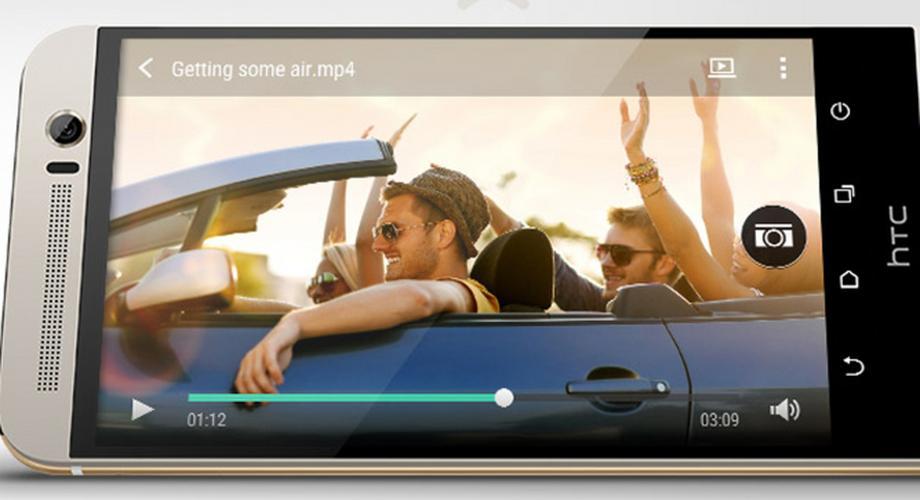 HTC stellt One M9+ mit 5,2-QHD-Display vor