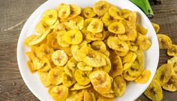 Plantain chips: Healthy plantain recipes