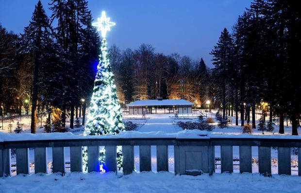 Polanica-Zdrój zimą