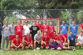 Ekipa Grada Beograda igra mali fudal protiv Srpske umetnicke reprezentacije