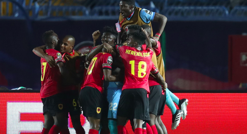 Angola jubilate their equalizer