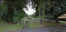 Kobieta zmarła na cmentarzu. Policjanci jej szukali, ale nie znaleźli