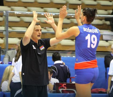 Zoran Terzić i Tijana Bošković