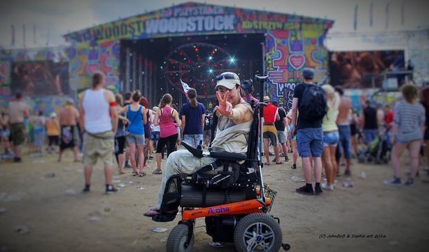 Agnieszka Kuszyńska na Przystanku Woodstock