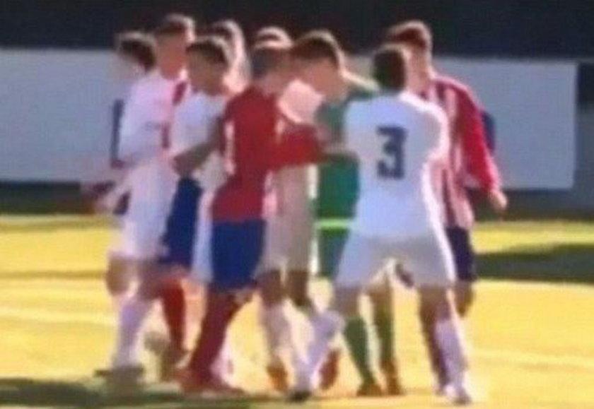 """Młody Zidane jak ojciec. Dał rywalowi """"z byka""""!"""