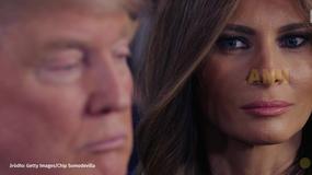 Chłodne relacje Melanii i Donalda Trumpa