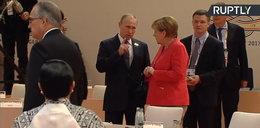 Merkel nie kryła emocji w rozmowie z Putinem. Reporterzy uchwycili ciekawy moment